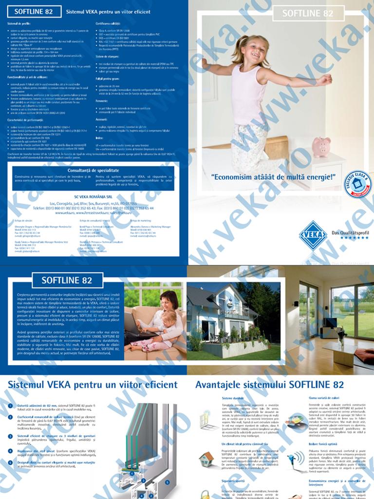 Broșura VEKA Softline 82